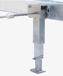 Uitdraaisteun 420mm-624mm verstelbaar