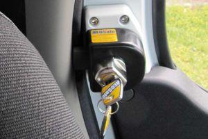 Safe-ty Quick voor Renault Master, Opel Movano, Nissan NV 400 v.a. 2010  afsluitbaar