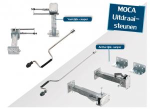 MOCA Hubmatic universeel 290-490 mm