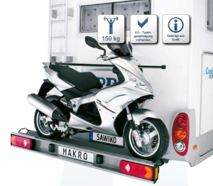 Sawiko Makro 150 voor 1 scooter