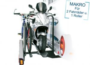 Sawiko Makro 150 voor 1 scooter en 2 fietsen