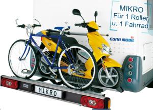 Sawiko Mikro voor 1 fiets en 1 scooter