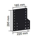 Montageplaten MT052